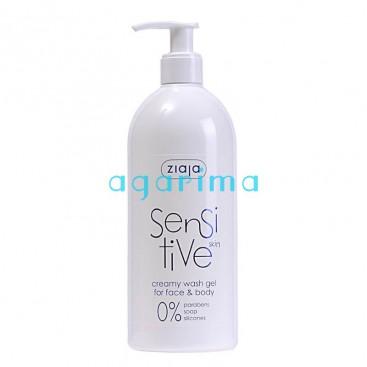 Gel de bany Sensitive per a pells sensibles.
