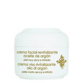 Crema facial revitalizante con aceite de argán