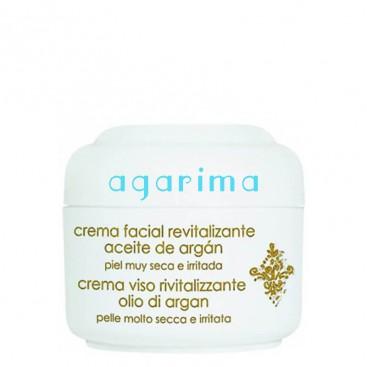 Crema facial revitalitzant amb oli d'argan