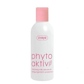 Leite limpador para pel delicada con capilares dilatados Phytoaktiv