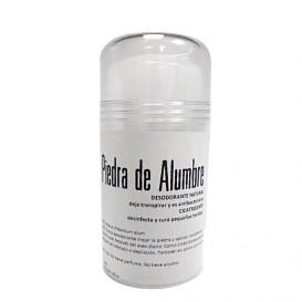 Piedra de alumbre. Desodorante natural.