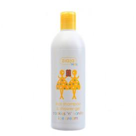 Gel-Xampú de vainilla i galeta Ziaja